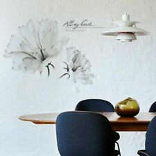 Removable Sofa Decor Flower Home Art Floral Bedroom Wall Stickers Decals DIY