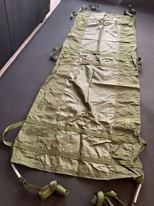 NEW BRITISH ARMY HAMMOCK / STRETCHER Current Issue Fishing Camping Hunting