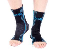 Doc Miller Ankle Compression Brace Sleeve Plantar Fasciitis Tendonitis Spur BLUE