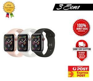 As New Apple Watch Series 4 - 40mm 44mm  Aluminum - GPS + Cellular Express Post