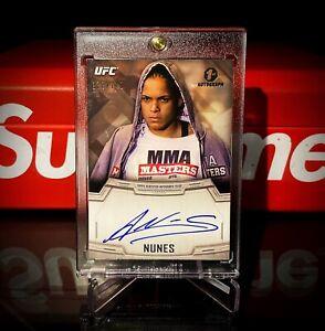 2014 Topps UFC Knockout Amanda Nunes Auto /149 RC 1st Autograph