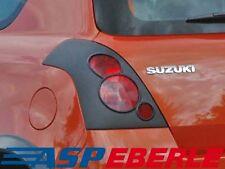 Rückleuchtenblende hinten Blende Suzuki Swift Rücklicht Lichter schwarz 05-
