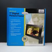 "NIB WinBook 7"" Digital Picture Frame"