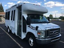 2008 Ford E450 Shuttle Bus with wheelchair lift