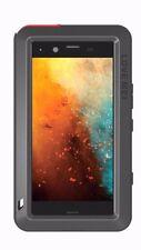 Love Mei Gorilla Glass Waterproof Metal Case Cover for Sony Xperia Xz1 Compact Black