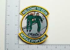 "U.S. Air Force Welcome To Osan ""Morale Stops Here"" Patch"