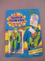 1985 KENNER DC SUPER POWERS SERIES 2 MARTIAN MANHUNTER 23 BACK FIGURE MOC
