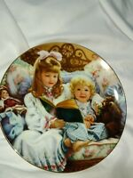 RECO NIGHT TIME STORY 1st ISSUE BAREFOOT CHILDREN PLATE COLLECTION SANDRA KUCK