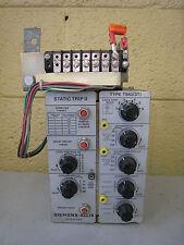 Siemens-Allis Static Trip II TSIG-3T Overcurrent Static Trip Device Used