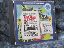 """DUKE ELLINGTON & COUNT BASIE ORCHESTRA CD """"FIRST TIME! THE COUNT MEETS THE DUKE"""""""
