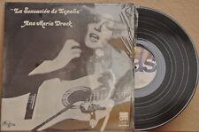 ANA MARIA DRACK LA SENSACION DE ESPAÑA MEXICAN LP SPANISH POP