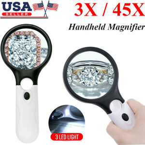 dailymall 2X Handheld High Reading Magnifier Magnifying Glass Lens Loupe for Reading