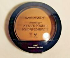 Wet n Wild Photo Focus Pressed Powder, Golden Tan, 7.5 Gram 826c FREE SHIPPING