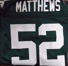 Clay Mathews GB Packers NFL on Field Reebok Authentic&Official 2XL 061217DBT5