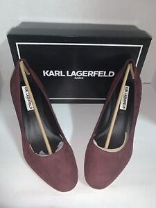 Karl lagerfield sabrina pump shoes
