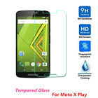 100% Genuine Tempered Glass Screen Protector Guard Skin For Motorola Moto X play
