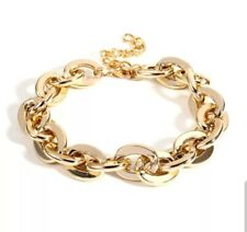 Gold Chunky Chain Bracelet Other Bloggers Stories Mango