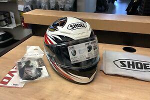 Shoei RF-1200 Full Face Helmet Incision TC-1 Size Medium 77-11813