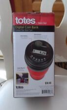 Totes Digital Coin Bank Great for Car