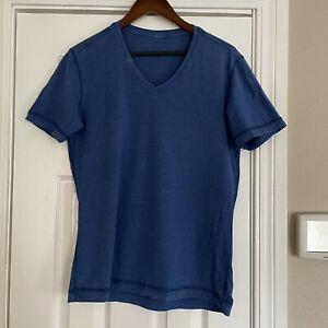 Lululemon 5 Year Basic Tee V-Neck Blue S
