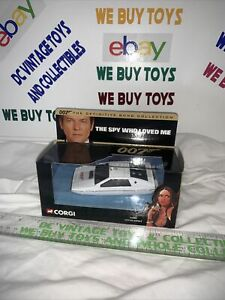 CORGI JAMES BOND 007 LOTUS ESPRIT #65002 The Spy Who Loved Me Definitive
