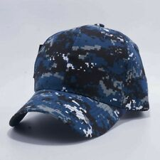 Blue Digital Camo Ball Cap US Navy NWU Type I Style USCG LHA DDG CVN SSN Vet Hat