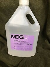 Mdg Fog Fluid- Neutral. Concerts, Churches, Shows, Effects.