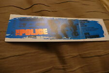 TICKET THE POLICE 1983 USA