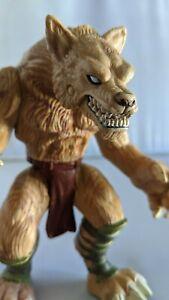 "Wizards ShogaKuKan Mitsui-Kids Werewolf 6"" Figure Hasbro 2003 Missing Tail"