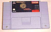 Wizardry V Heart of the Maelstrom Super Nintendo SNES original game cartridge