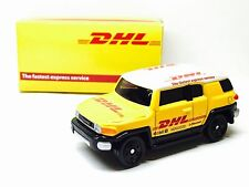 JAPAN TOMY TOMICA DHL DELIVERY CAR TOYOTA FJ CRUISER 1/66 DIECAST RARE LIMITED