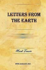 Letters from the Earth by Mark Twain (2009, Hardcover)