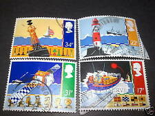 Used Great Britain Commemorative Stamps