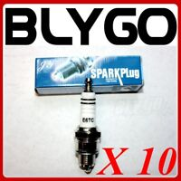 10X E6TC Ignition Spark Plugs YAMAHA PW50 PY50 PEEWEE 50 PIT DIRT BIKE