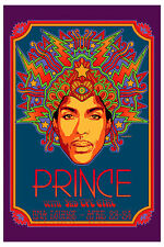 Prince : at The DNA Lounge San Francisco Concert Poster 2013