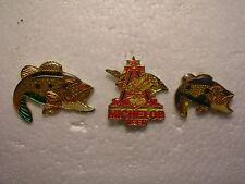OFFER Two Fish & A Beer - Lapel Pins - Collectible Pins -- Clutches NOT Included