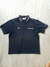 Polo vintage manches courtes Bmw sauber f1 team sachs xl  bleu marine
