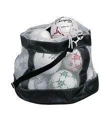 New Champion CB100 Deluxe Mesh Soccer Ball Bag w Drawstring & Strap 25x24x24