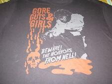 Gore Guts & Girls Tee Shirt Xl Horror Rock N Roll