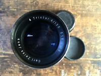 CARL-ZEISS-JENA-Objektiv f. PRAKTINA TRIOTAR 4/135mm + caps - Classic-Camera