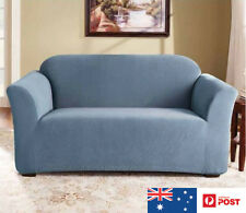 SUREFIT Couch Cover 2 Seater Sofa Stretch Slip Cover 147 to 185cm Federal Blue