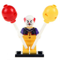 Penny Wise - The Dancing Clown New Inspired Horror Lego Minifigure For Kids