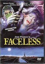 Faceless , Les Prédateurs de la nuit , 100% uncut , new / sealed , Jesús Franco