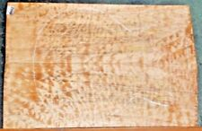 Quilted Maple Instrument Wood 8442 Luther Solid Body Guitar Top 22 x 14 x .500