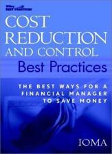 Cost Reduction and Control Best Practices: The Best Ways for a Financial...