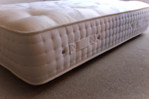 EXTRA FIRM 28cm DEEP 3000 POCKET MATTRESS DOUBLE OR KING 6 HANDLES FOR TURNING