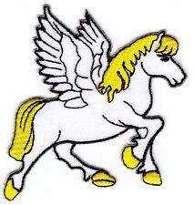 ak69 Pegasus Pferd Aufnäher Bügelbild Aufbügler Patch Applikation Kinder DIY