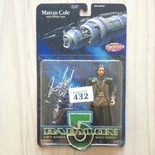 Babylon 5 Marcus Cole With White Star action figure B5 1997 Wb sealed Moc rare