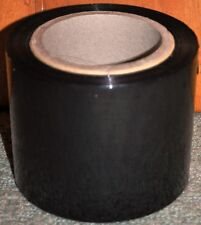 BLACK STRETCH PALLET WRAP 250 METER L 100 MM WIDE. HEAVY DUTY. FREE SHIPPING NOW