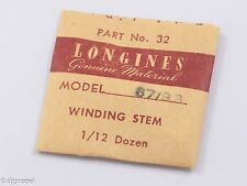 Longines Genuine Material Stem Part 32 for Longines Cal. 37/93